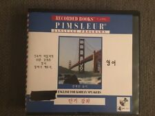ENGLISH FOR KOREAN Speakers Pimsleur The Short Course Unabridged Audiobook