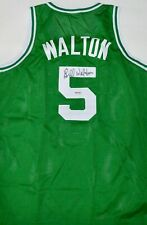 AUTOGRAPHED UDA BILL WALTON BOSTON CELTICS JERSEY