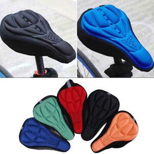 Bike bicycle saddle seat cover pad padded soft cushion comfo_fr