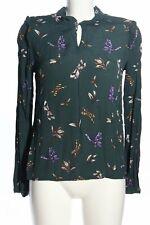 RICH & ROYAL Schlupf-Bluse Allover-Druck Casual-Look Damen Gr. DE 36 grün Blouse