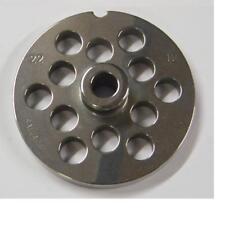Piastra per tritacarne SALVINOX acciaio inox N32 foro 8 mm Tre Spade Reber