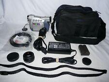 Canon ZR40 ZR40A MiniDv Mini Dv Stereo Camcorder VCR Player Video Transfer