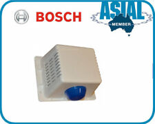 Bosch alarm white plastic siren BLUE STROBE LIGHT HORN SPEAKER standard quare