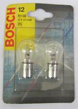 Bosch 2 Pcs Pair of Bulbs Lamp Car Pure P21/4W/12V Original 987301015 New