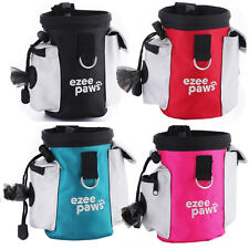 Dog Puppy Training Treat Snack Bag With Poo Bag Holder Belt Clip by Ezee Paws