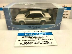 NEO SCALE MODELS AUDI 90 QUATTRO TYP 85 TRESER HUNTER 1986 BLANCO DIECAST CAR