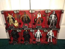Star Wars Elite Series The Force Awakens LOT Rey BB-8 Finn Poe Dameron Kylo Ren