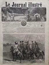 LE JOURNAL ILLUSTRE 1864 N 32 COSAQUES DE KOUBAN ET TCHERKESS DU CAUCASE