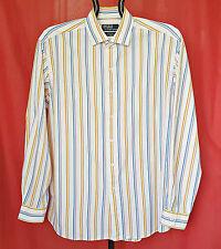 VINTAGE POLO by RALPH LAUREN WESTERTON STRIPED MEN'S DRESS SHIRT-SIZE:US17/EU43