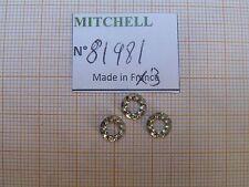 3 RONDELLES FREIN MITCHELL  498 & autres  MOULINETS LOCK WASHER REEL PART 81981