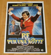 RE PER UNA NOTTE poster manifesto Robert De Niro Jerry Lewis Randall Scorsese