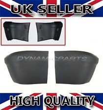 FORD TRANSIT CONNECT PAIR OF REAR BUMPER CORNER END CAPS WITH CLIPS