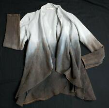 Testimony Los Angeles Open Cardigan Shirt Blouse Ombre Acid Metal Studs XS
