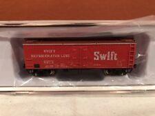 N SCALE RAPIDO TRAINS 521034 SWIFT GARX 37' MEAT REEFER SINGLE CAR RD#2646