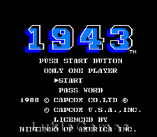 1943 - NES Nintendo Fun Game