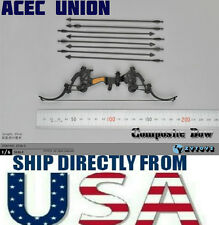 """1/6 Composite Bow Arrow Set For 12"""" Figure Soldier Military Weapon U.S.A. SELLER"""