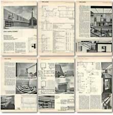 1961 Civic Centre, Enfield, Design, Plans