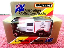 MATCHBOX  LIMITED EDITION 1981  MB 38  FORD MODEL A  [CHESTY BONDS] UNOPENED