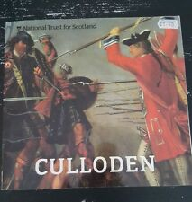 National Trust for Scotland Culloden Phil Sked Paperback Battlefield Plan