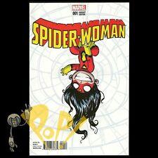 SPIDER-WOMAN #1 Skottie YOUNG Baby VARIANT Marvel Comics NM!