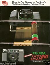 Camera Brochure - Fuji - Fujica DL-100 Auto Ace - c1982 (CB69)