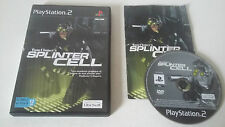 TOM CLANCY'S SPLINTER CELL - SONY PLAYSTATION 2 - JEU PS2 COMPLET