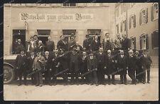 Stettin-Szczecin-Polen-1928-Seltene Photo-Gasthaus zum grünen Baum-Pommern-4