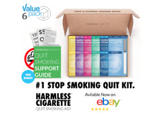 Quit Smoking Kit To Help Overcome Smoke Cravings | Harmless Cigarette.(6 Pack)