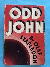 ODD JOHN - BY OLAF STAPLEDON FIRST AMERICAN EDITION