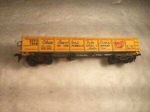 Vintage HO Scale Ohio Seamless Tube Division OSTUCO 1908 Gondola Car No Reserve!