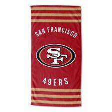 San Fransisco 49ERS Strandtuch Stripes XXL NFL Duschtuch Badetuch Handtuch