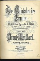 Aimé Maillart : Das Glöckchen des Eremiten -  Klavierauszug (gebunden) Text D/F