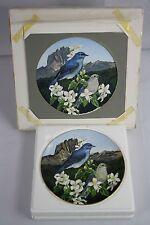 Janene Grende Original Artist Proof Painting & Decorative Plate Idaho 1988 OOAK
