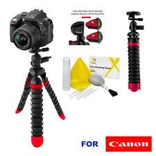 "12"" PRO FLEXIBLE TRIPOD WITH QUICK RELEASE FOR CANON EOS REBEL T3 T3I T4 T5 T6"
