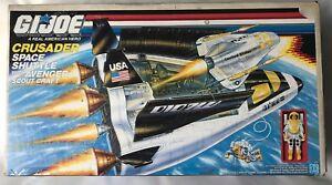 G I JOE - ARAH Crusader Space Shuttle 1987 Hasbro with original box