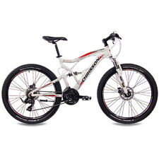 "26"" Zoll ALU MTB Mountainbike Fully CHRISSON EMOTER mit 21G SHIMANO weiss matt"