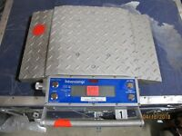 Intercomp MH-300A 101200 Wireless Portable Truck Scale 20000lbsx10/10000kgx5 #B