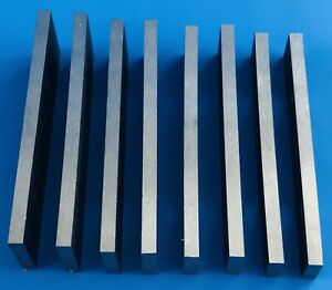 """Set of 4 pairs of Parallels  5/32"""" thick 3"""" long"""