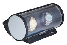 "Black Silver Trim Automatic Diplomat ""Economy"" Double Watch Winder"