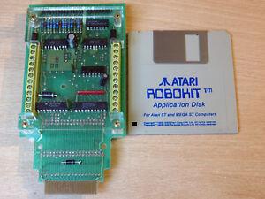 Atari ST - Atari Robokit - Robot Interface and Disc / Robotics