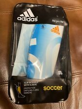 Adidas F50 Pro Lite Soccer Shin Guards With Sleeve Large