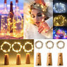 20 LED Colorful Wine Bottle Cork Shape Lights Night Fairy String Light Lamp 2M
