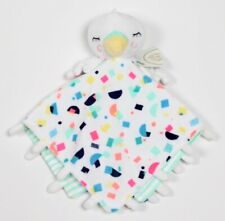 Oh Joy! Swan Bird Baby Security Blanket Lovey Target White Confetti Plush NWT