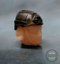 "MH387 Crye Helmet v1 Military Custom Cast Male head use w/3.75"" GI Joe"