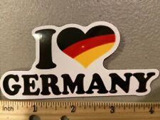 New I Love Heart Germany Big Rare Logo Meme Vinyl Laptop Decal Sticker Car Truck