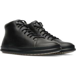 Camper Chasis Sport Hoops Mens Black Leather Chukka Ankle Boots Size 8-12