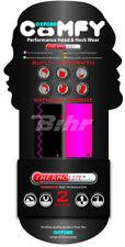 Braga cubre cuello Thermolite negro / rosa, Pack de 2. Oxford NW300