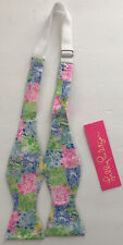 NWT Lilly Pulitzer Mens Silk Bow Tie Cheek To Cheek