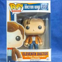 Funko Pop Vinyl Figure Television 11th Doctor Who #220 Eleventh Doctor Vaulted