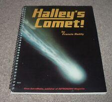 1985 HALLEY'S COMET History 16 Maps Photo Francis Reddy Thomas L Hunt Astromedia